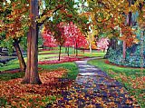 David Lloyd Glover September Park painting